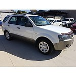 8/2006 Ford Territory TX (AWD) SY 4d Wagon White 4.0L