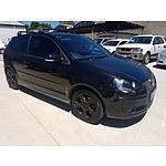 1/2006 Volkswagen Polo GTi 9N 3d Hatchback Black 1.8L