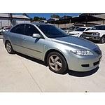10/2002 Mazda Mazda6 Classic GG 5d Hatchback Silver 2.3L