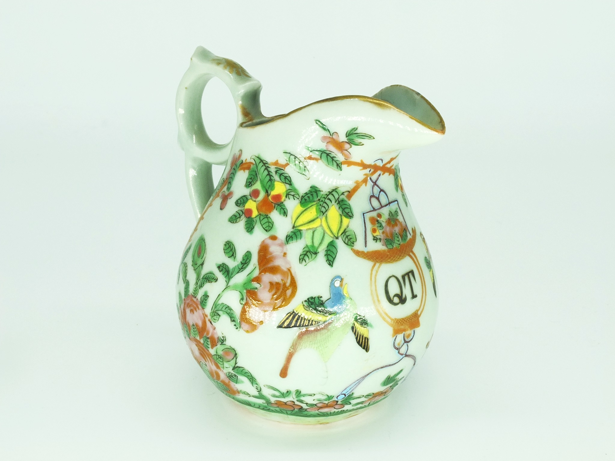 'Chinese Export Porcelain with QT Armorial of Late 19th Century Sydney Tea Rooms Owner Quong Tart'