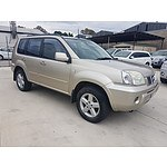 2/2004 Nissan X-trail Ti-L (sunroof) (4x4) T30 4d Wagon Gold 2.5L