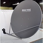 Lot of 12 - 90 Cm KU Band Satellite Dish complete with Heavy Duty Wall Bracket - RRP=$1,380.00