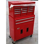 6 Drawer Chest and Cabinet Combo - Demonstration Model