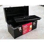 Husky Checker Plate Tool Box - Demonstration Model