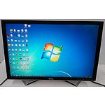 Dell 2408WFPb 24 inch Widescreen LCD Monitors - Lot of 2
