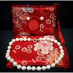 Jane Brown Pearls - necklace and matching earrings