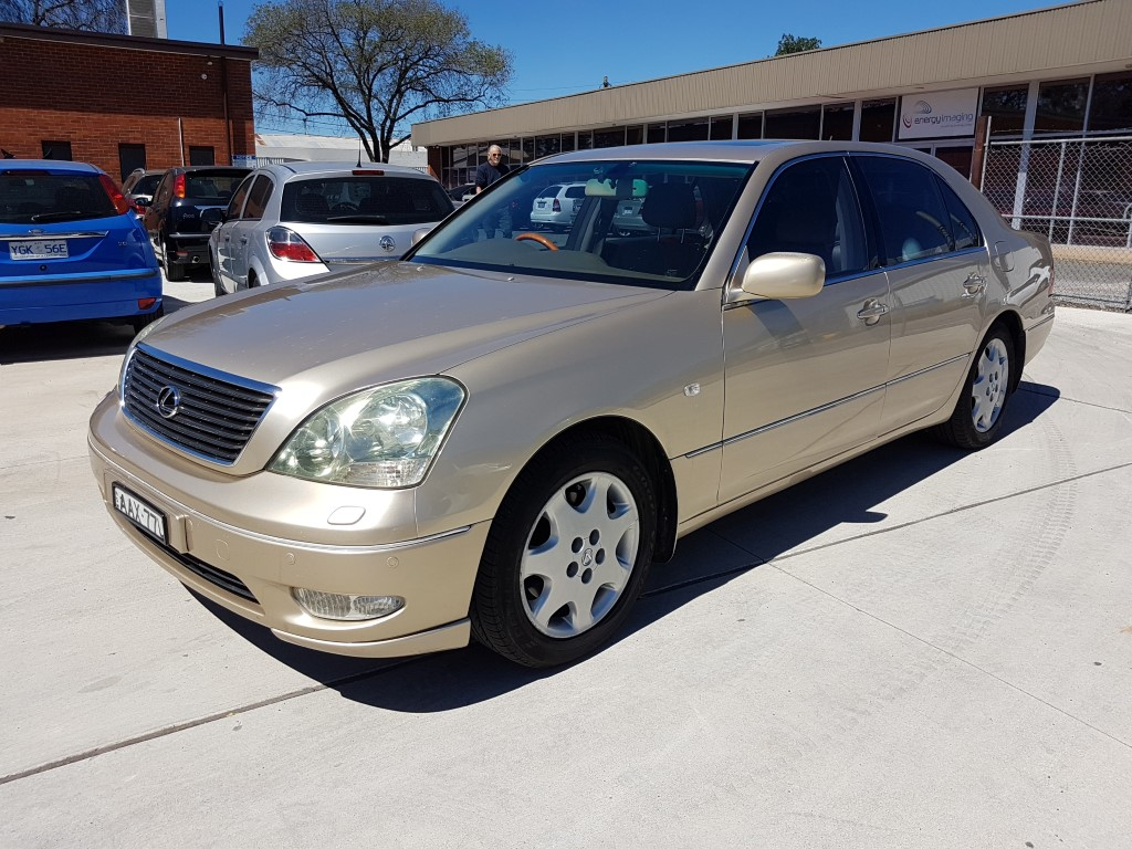 6/2002 Lexus Ls430 UCF30R 4d Sedan Gold 4 3L