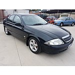 10/1998 Ford Fairmont  AU 4d Sedan Black 4.0L