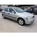 3/2004 Holden Astra CD TS 4d Sedan Silver 1.8L