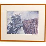 Chang Fee Ming (Malaysian 1959-) Sundial Offset Print