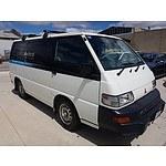 11/2011 Mitsubishi Express SWB SJ MY11 Van White 2.4L