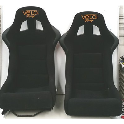 Velo GPT1 Racing Car Seats - Lot of Two