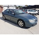 3/2005 Holden Berlina  VZ 4d Sedan Blue 3.6L