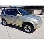10/1998 Suzuki Grand Vitara (4x4)  4d Wagon Beige 2.5L