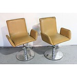 Pair of Barber Shop Chairs