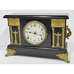 American Sessions Mantle Clock With Keys