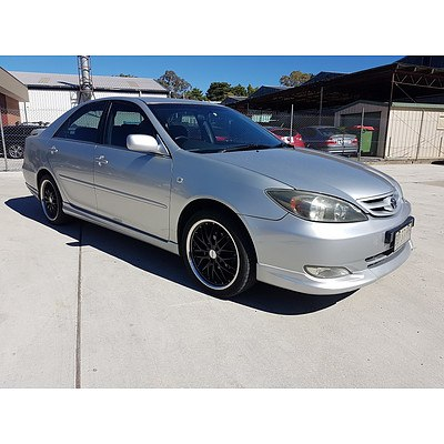 8/2002 Toyota Camry Sportivo ACV36R 4d Sedan Silver 2.4L