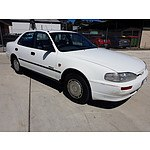 7/1994 Holden Apollo SLX JM 4d Sedan White 2.2L