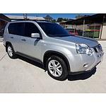 1/2011 Nissan X-trail ST (fwd) T31 MY11 4d Wagon Silver 2.0L