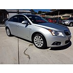 7/2011 Holden Cruze CD JH 4d Sedan Silver 2.0L