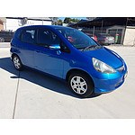 12/2006 Honda Jazz 5d Hatchback Blue 1.5L
