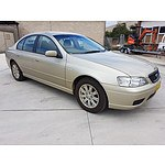 10/2005 Ford Falcon Futura (lpg) BF 4d Sedan Gold 4.0L