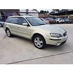 7/2004 Subaru Outback 3.0R MY04 4d Wagon Beige 3.0L