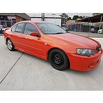1/2004 Ford Falcon XR6 BA 4d Sedan Orange 4.0L