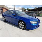 10/2004 Holden Commodore SV6 VZ 4d Sedan Blue 3.6L