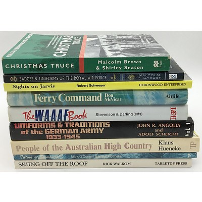 Huge Collection of War and Military Books and Magazines From a Prominent Historian