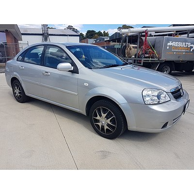 102005 Holden Viva Jf 4d Sedan Lot 929402 Allbids