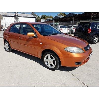 92005 Holden Viva Jf 5d Hatchback Lot 930160 Allbids