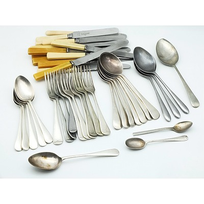 Group of Vintage Flatware, Including Grosvenor Plate, Atkinson Bros, Whiteaway, Laidlaw and Co and More