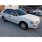 04/1996 Toyota Corolla Seca CSX Hatch Back White 1.8L