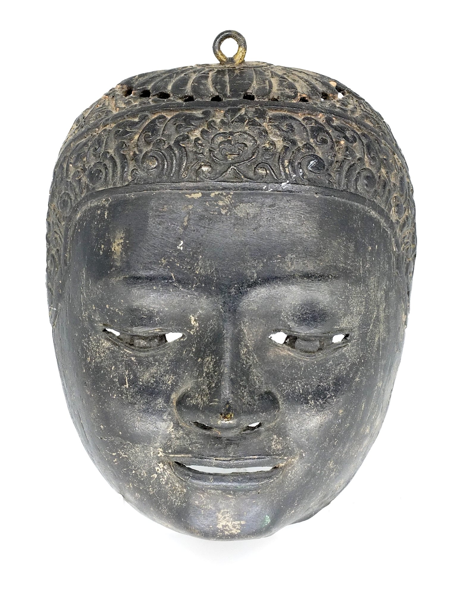 'South East Asian Cast Bronze Mask'