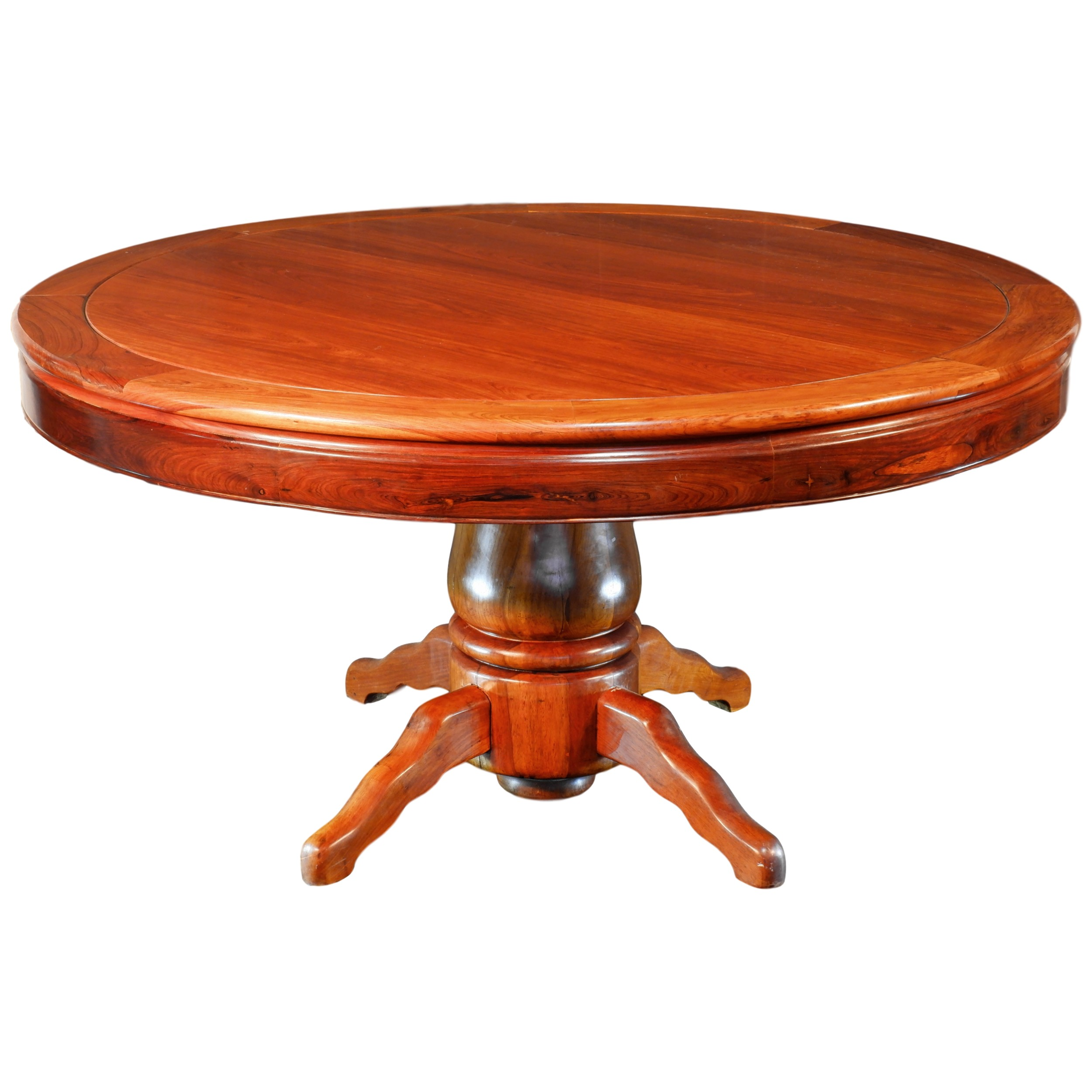 'Impressive Chinese Rosewood Large Centre Table Republic Period Early to Mid 20th Century'