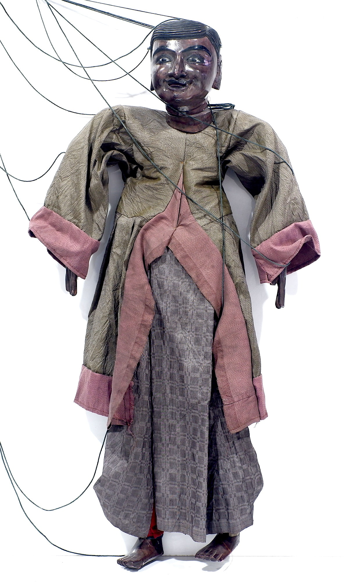 'Old Burmese Marionette Puppet'
