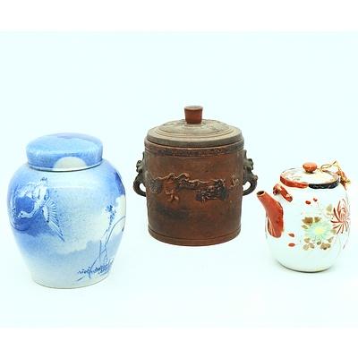 Three Japanese Ceramics