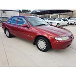 1/1997 Ford Falcon Futura EL 4d Sedan Red 4.0L
