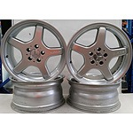 Mercedes AMG 18 Inch Alloy Rims - Set of Four
