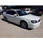 9/2002 Subaru Liberty RX MY02 4d Sedan White 2.5L