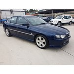 3/2004 Holden Calais  VYII 4d Sedan Blue 3.8L