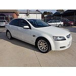 7/2010 Holden Commodore International VE MY10 4d Sedan White 3.0L