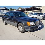 3/1994 Mercedes-Benz E280  W124 4d Sedan Black 2.8L