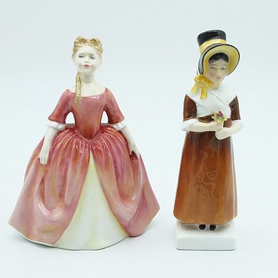 Two Royal Doulton Figures, Debbie and Louise
