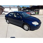 11/2001 Toyota Corolla Ascent AE112R 4d Sedan Blue 1.8L