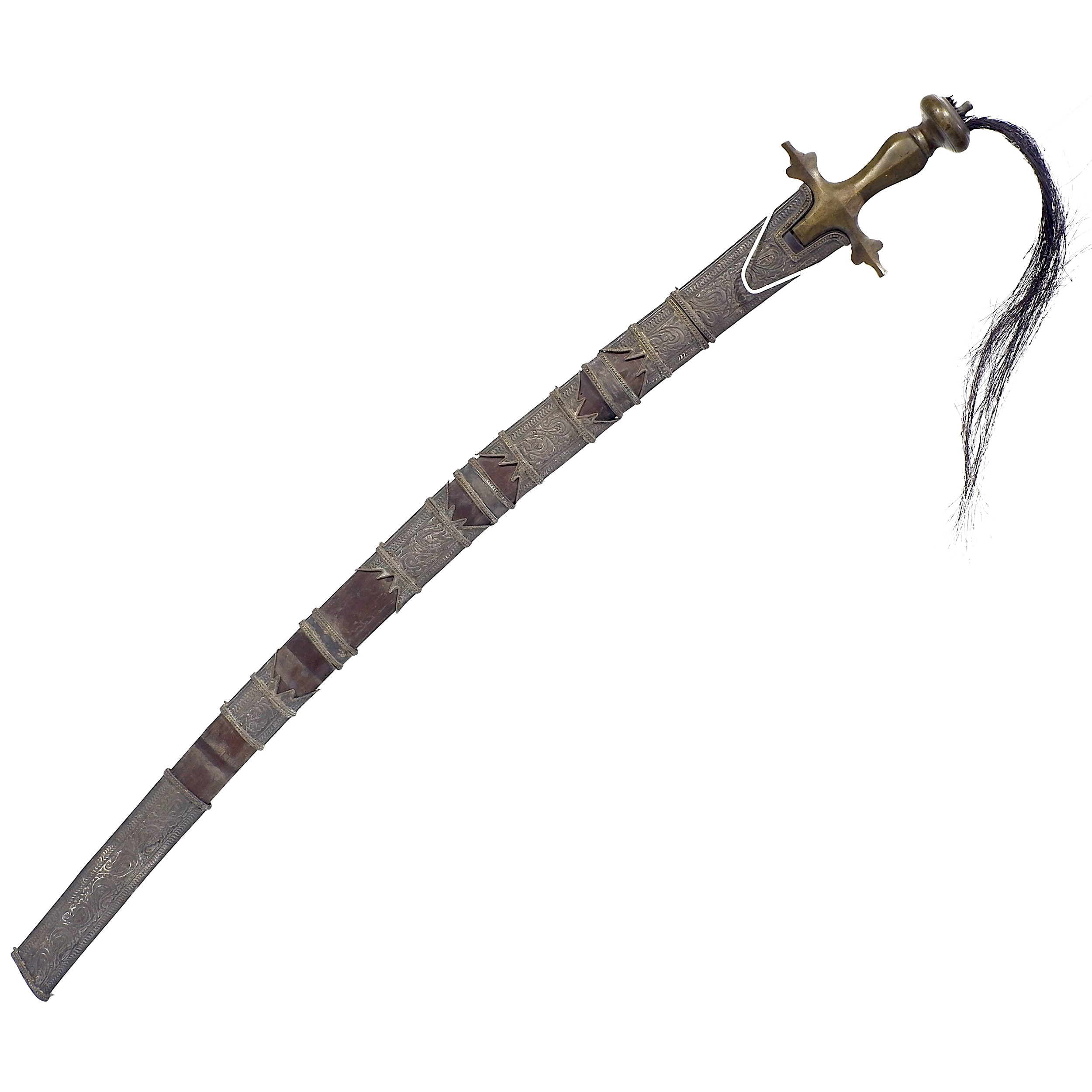 'Piso Podang Sword Borneo or Sumatra 19th Century'
