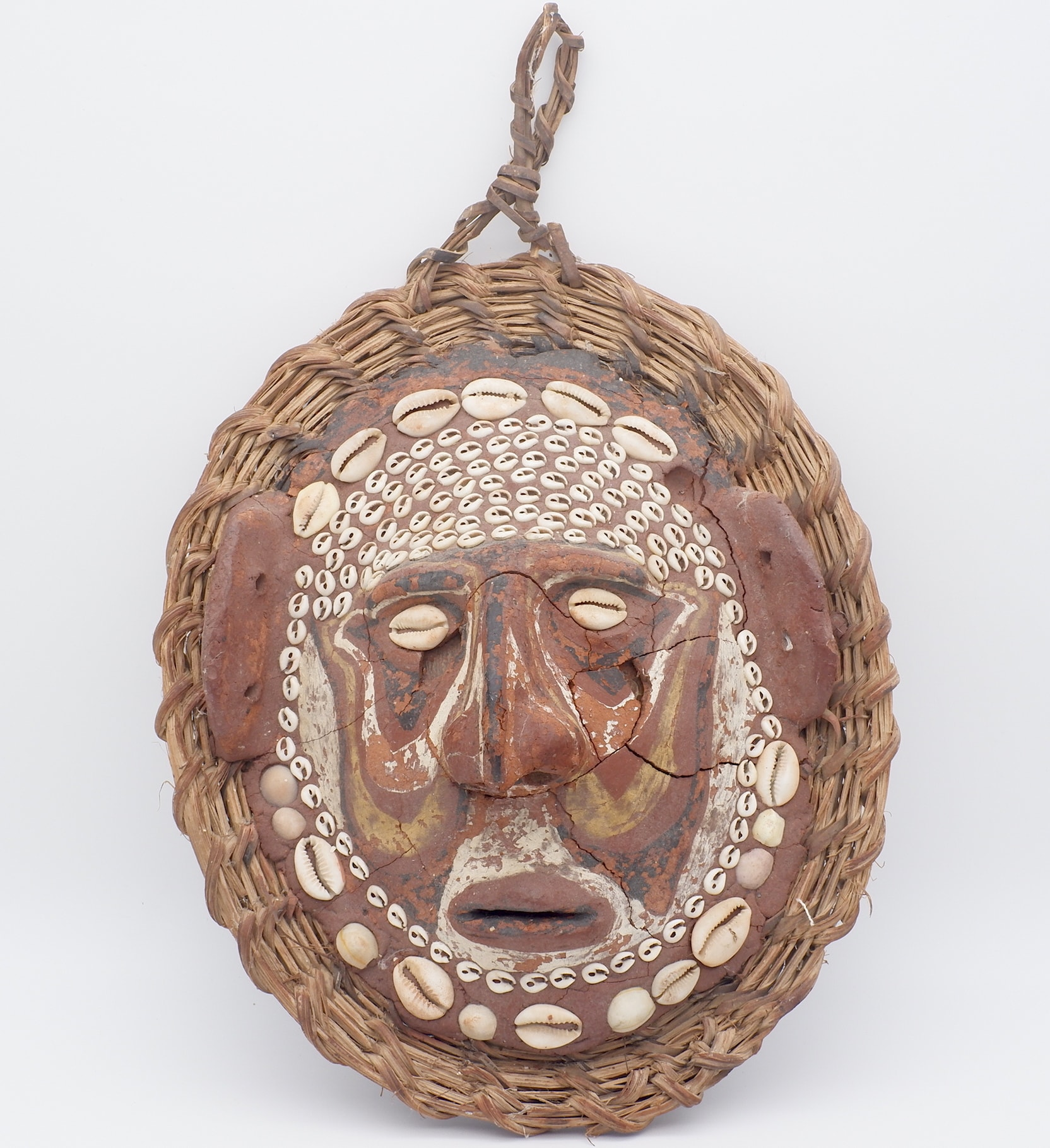 'PNG Sepik Over-Modelled Turtle Shell Mask'