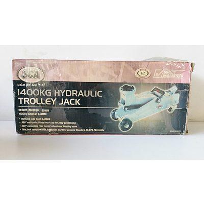SCA 1400KG Hydraulic Trolley Jack