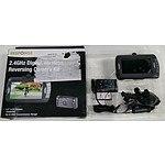 Response 2.4GHz Digital Wireless Reversing Camera Kit - RRP: $229.00